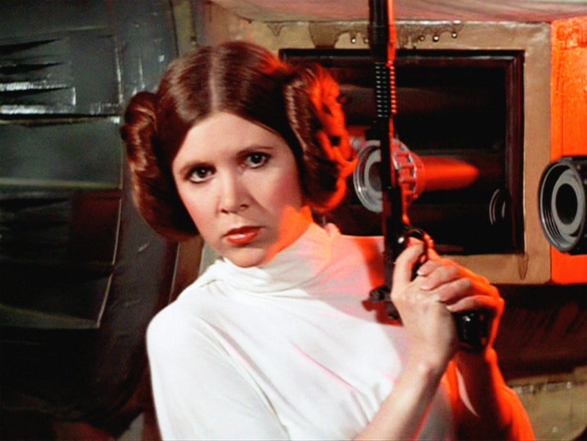 Adiós, Princesa :( @carrieffisher #CarrieFisher 1956-2016 https://t.co/Hy6DxvVOHu
