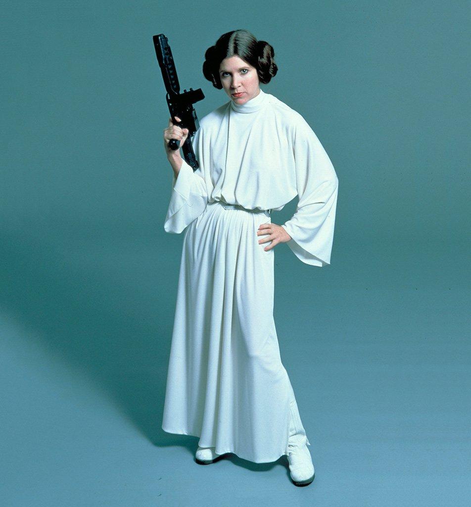 Adiós a Carrie Fisher (1956-2016). Que la fuerza te acompañe, princesa Leia. https://t.co/lBg69Xzjk9