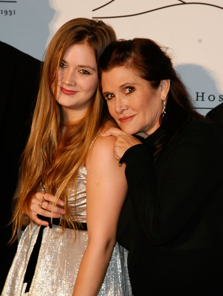 """""""She was loved by the world and she will be missed profoundly.""""  - Billie Lourd on her mother, Carrie Fisher. https://t.co/QGshabB6Cg"""