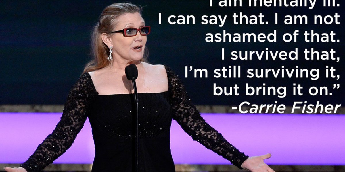 #RIPCarrieFisher: RIP Carrie Fisher