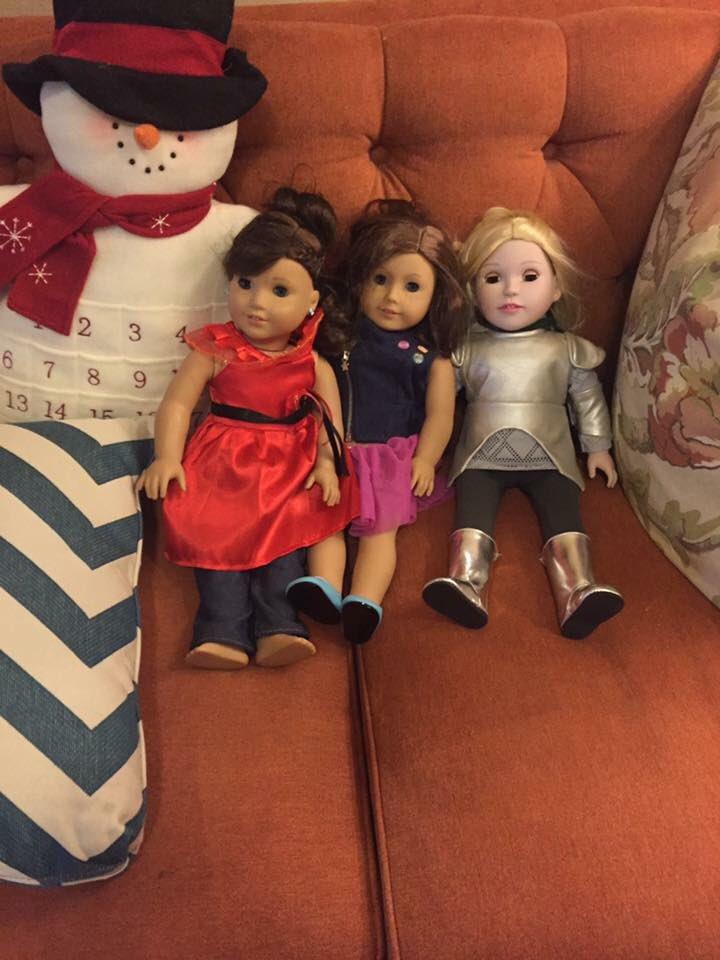 @dollsfromheaven gave my goddaughter the Joan of Arc doll for Christmas! https://t.co/VIbFtQ3yjD