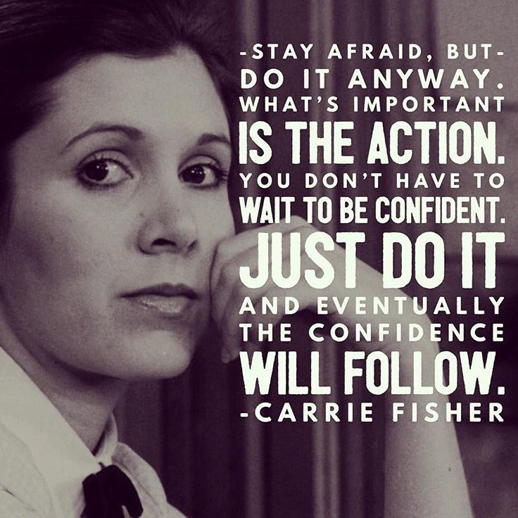 To the damsel who took the lead on her own distress, here's to you Carrie Fisher. Image via @smrtgrls https://t.co/3QwmWWN0dR