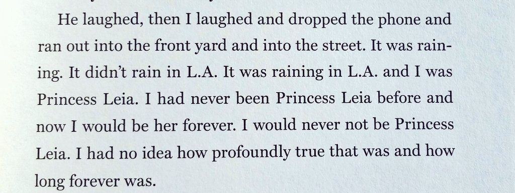 When Carrie Fisher learned she got the part of Princess Leia: https://t.co/Gs3MCqPQRE