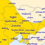 Warning issued for damaging winds and heavy rain across Victoria