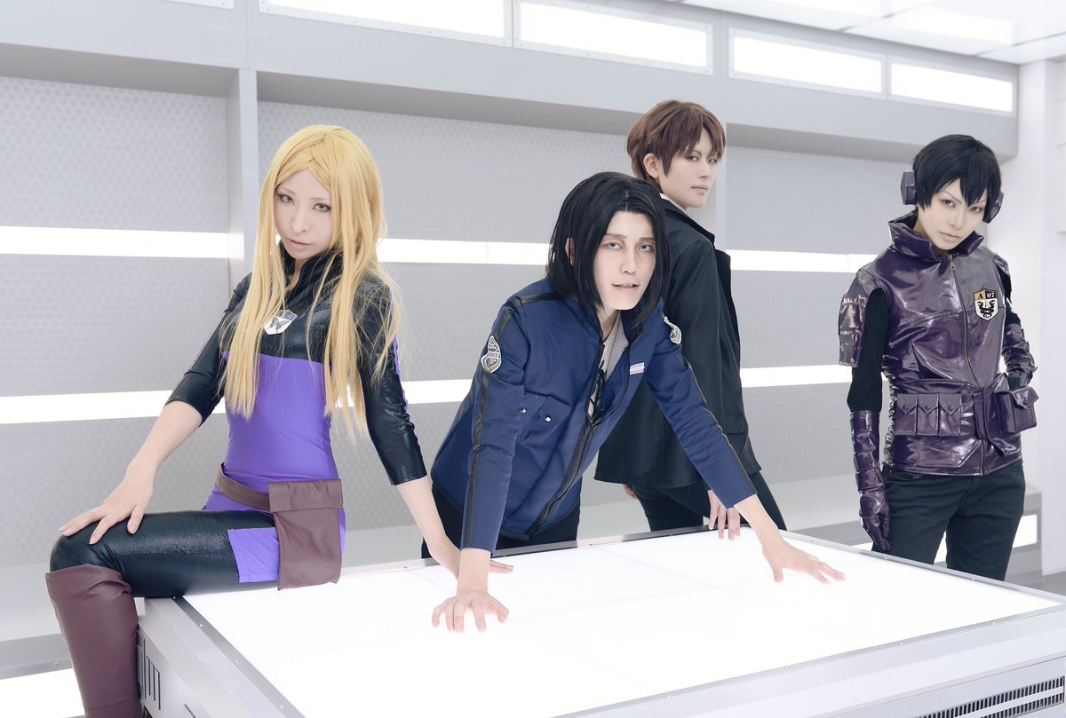 【cosplay】ワールドトリガー旧東隊東→松田椎太二宮→OOmi加古→ルイPhoto→ナギ