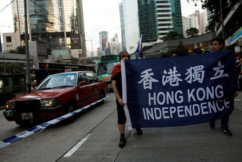 Quoting Mao, China says Taiwan, HK independence supporters will fail 'like flies'