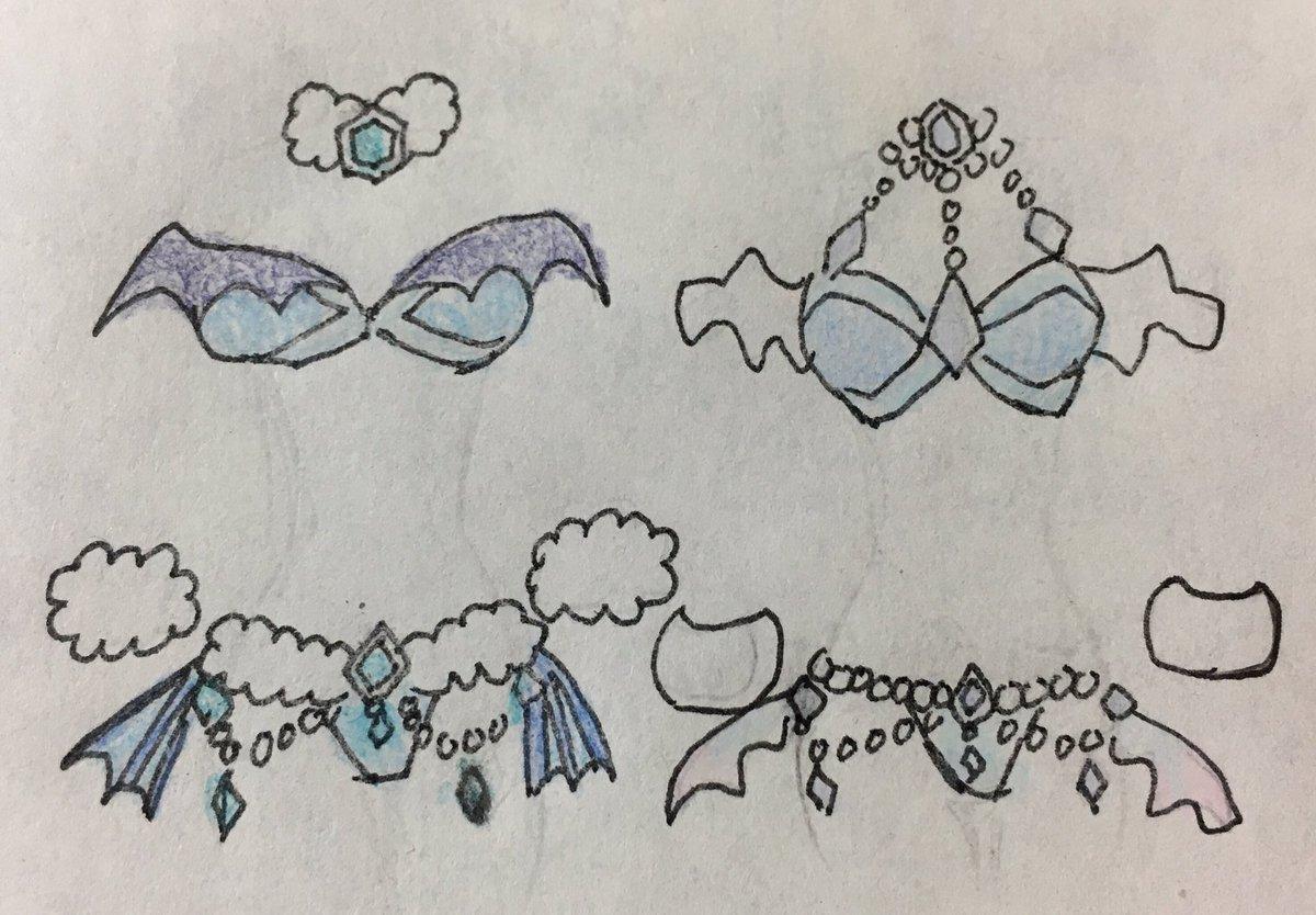 星3メロウとセイレン風下着(水着でも)を描いてみました。 #オレカバトル #オレカ