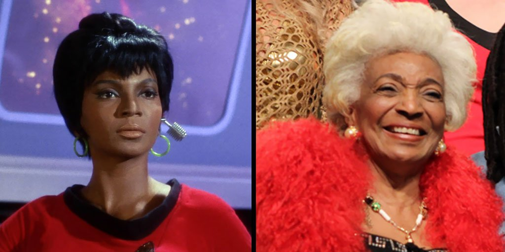 Join us in wishing a #happybirthday to Nichelle Nichols, known to #StarTrek fans as Uhura! https://t.co/Y4zeSwsJWl https://t.co/Dboo7zsRQx