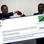 Sh110m donated to Kagera quake victims