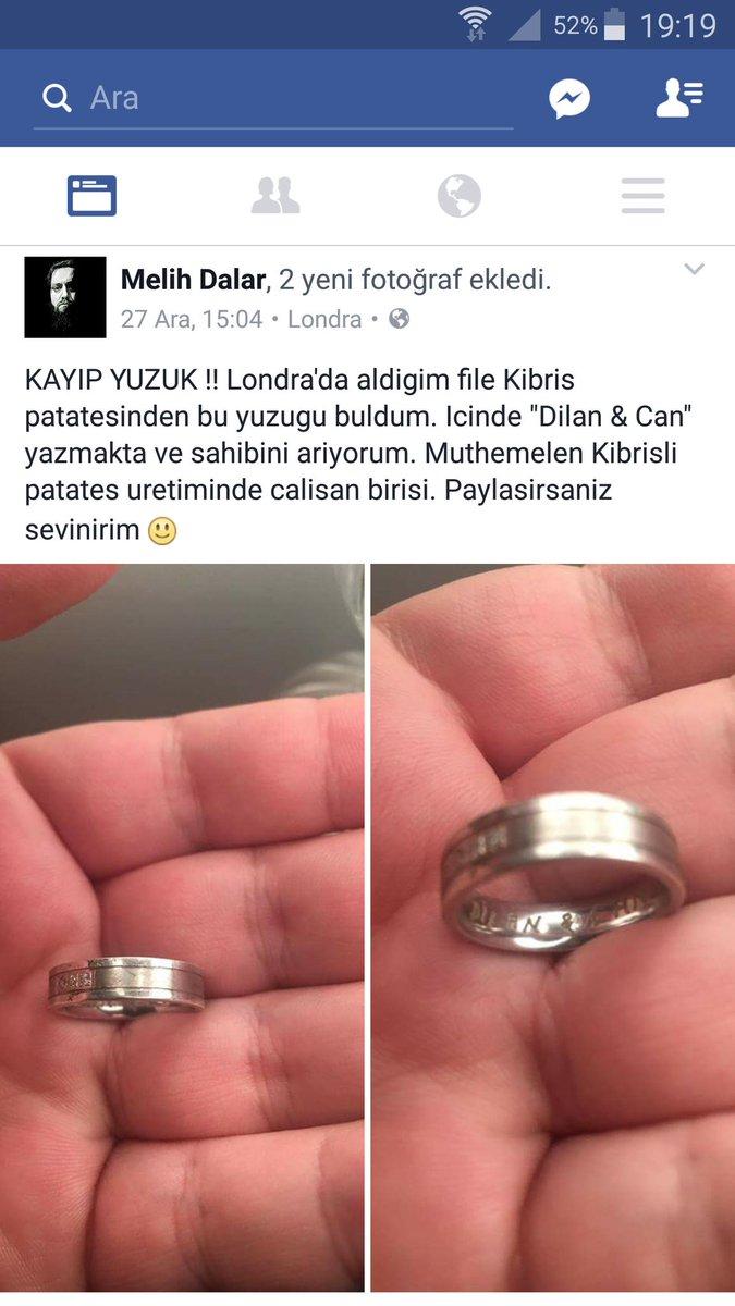 Kayıp yüzüğün sahibi aranıyor :) Elden ele yaysak ne tatlı olur. https://t.co/nYSzzecMWe