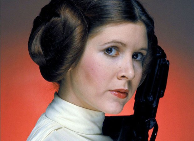 #CarrieFisher: Carrie Fisher