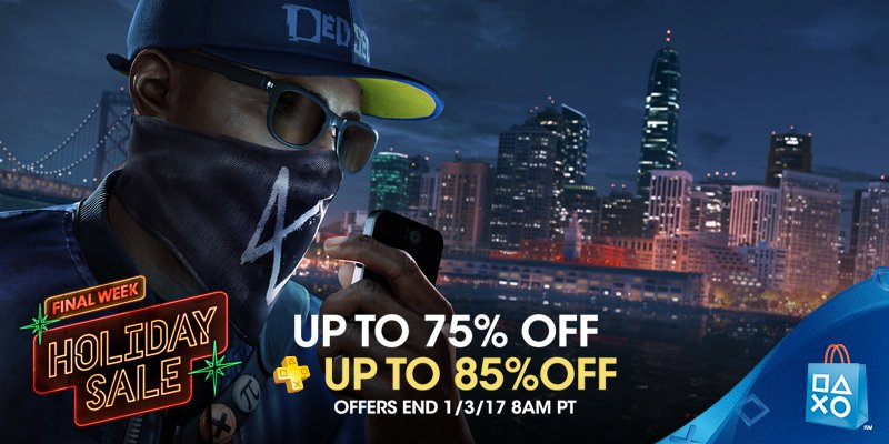 Save into the new year with the final week of PlayStation Store's Holiday Sale https://t.co/Xms7Z9xeNS https://t.co/y5C08ey4jU