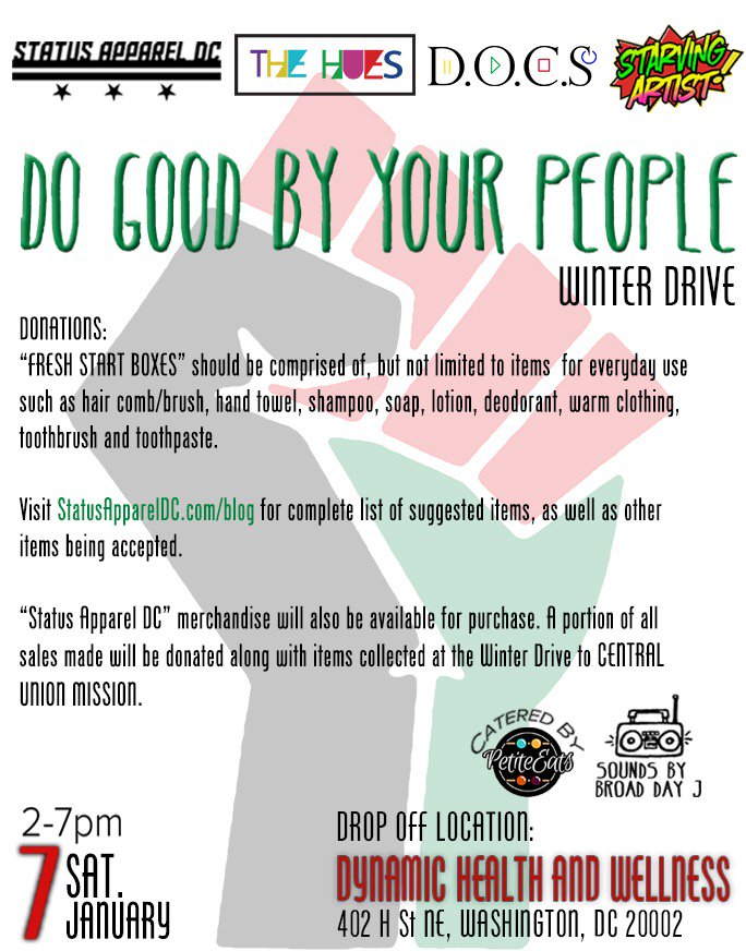 January 7th, we're giving back. #DoGoodByYourPeople , check https://t.co/VAuZxjVKoD for more info. https://t.co/6Wpu4b0Kzt