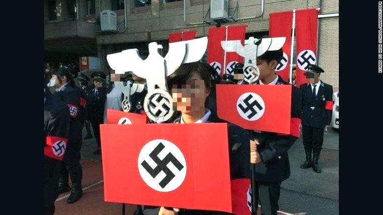 Does this Taiwan school's Nazi costume controversy hint at a larger problem in Asia?