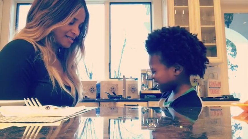 Here's a great video of #Ciara a