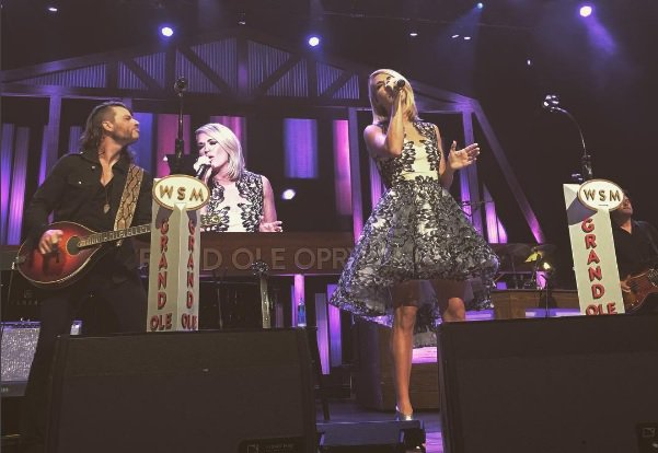 #Exclusive: Watch @carrieunderwood perform #DirtyLaundry at the @opry: https://t.co/URH8JvqyEd #Storyteller https://t.co/RO36dufb2t