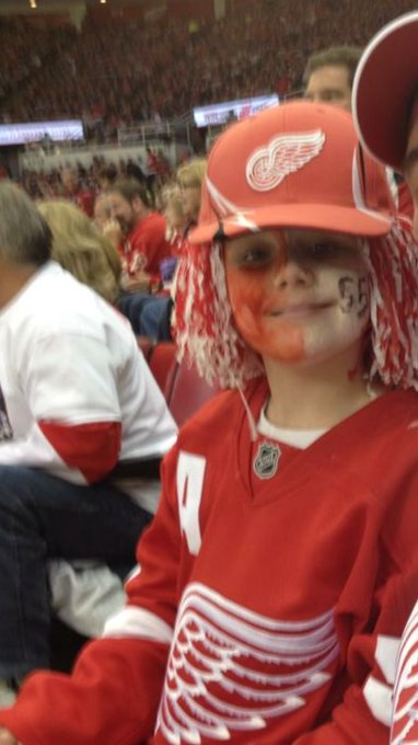 Happy Birthday Niklas Kronwall !!! Your biggest fan