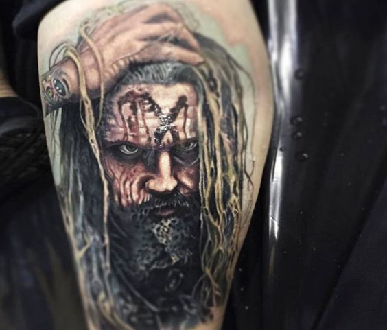 Happy Birthday Rob Zombie   by Paul Acker