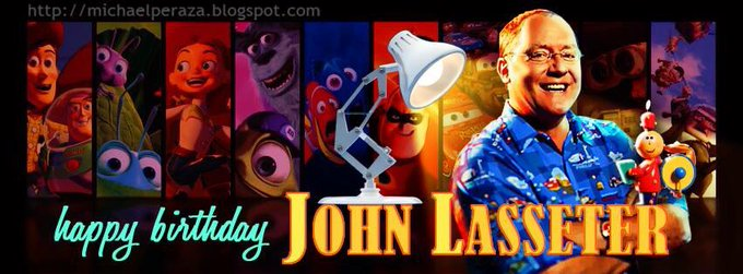 Happy birthday John Lasseter!!   I love this art piece from