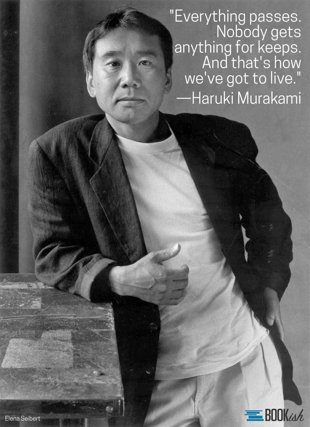 Wishing Haruki Murakami a happy birthday today! Which books of his are your favorites?