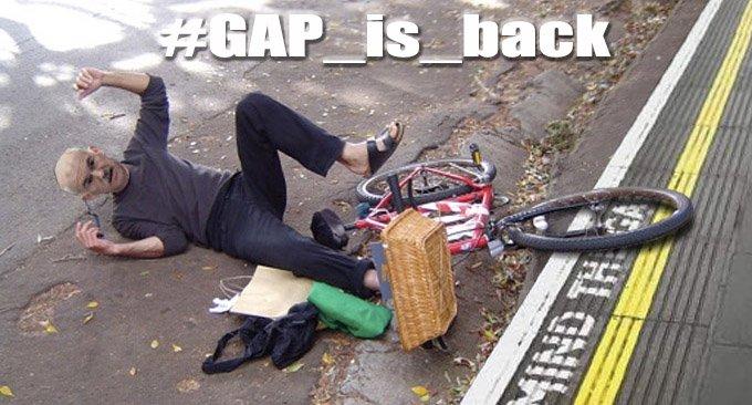 #GAP_is_back: GAP _is _back