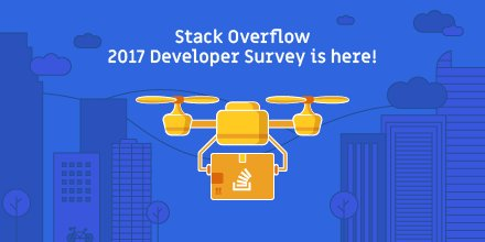 Help us find out what developers want. Take the 2017 Stack Overflow Developer Survey now. https://t.co/4jnkmaLfZr https://t.co/Btf6NeMWio