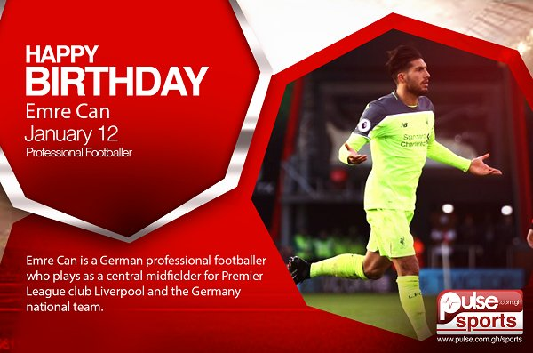 Happy Birthday; Emre Can