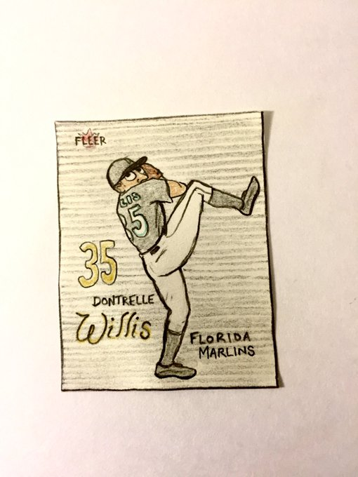 Wishing a very happy 35th birthday to Dontrelle Willis!