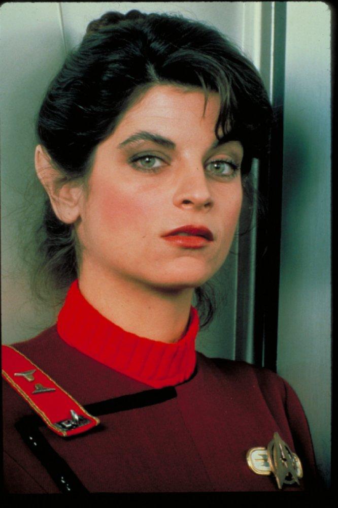 Happy birthday to Kirstie Alley who played Saavik in Star Trek II: The Wrath of Khan.