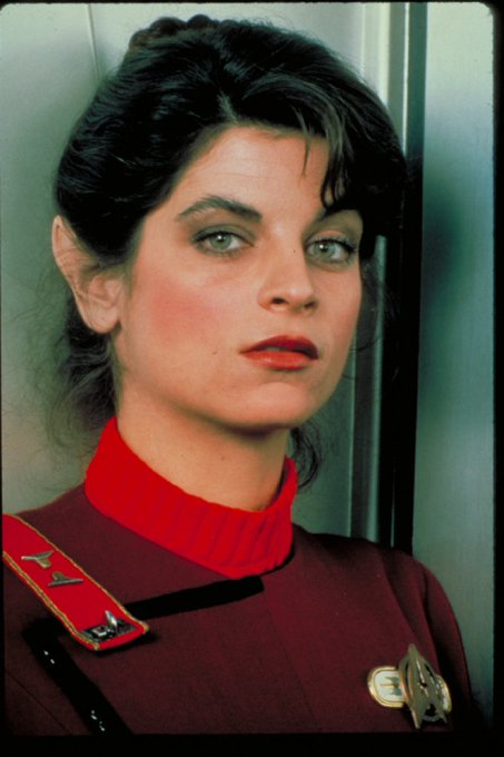 Happy birthday to Kirstie Alley who played Saavik in Star Trek II: The Wrath of Khan.