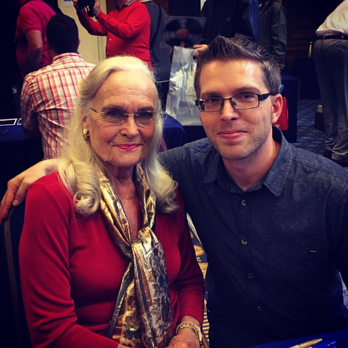 A very happy 80th birthday to the golden girl herself, Miss Shirley Eaton.