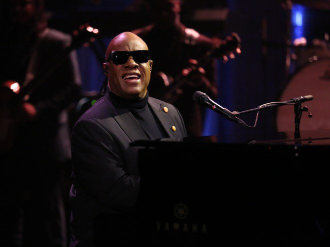Stevie Wonder reworks 'My Cherie Amour' lyrics for Michelle Obama: