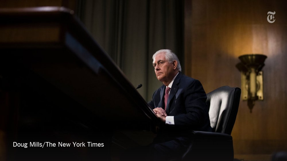 Rex Tillerson's remarks on the South China Sea foreshadow a possible foreign policy crisis