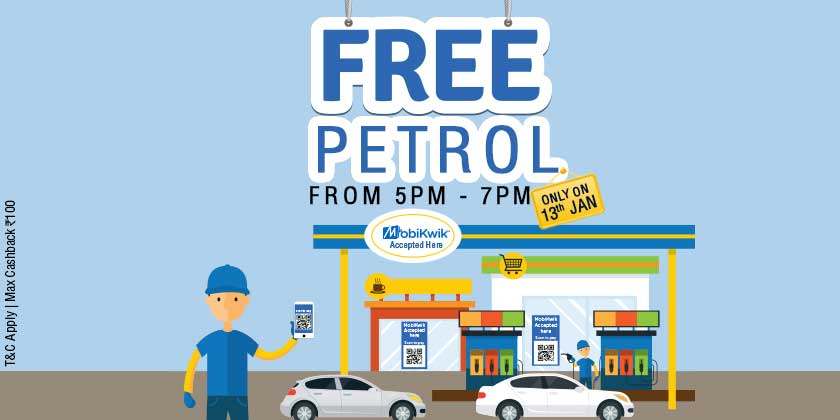 Only in Delhi/NCR, pay through MobiKwik and get free petrol from us. #FreePetrol #MobiKwikHaiNa #DeshKaWallet https://t.co/2limVeZpFE