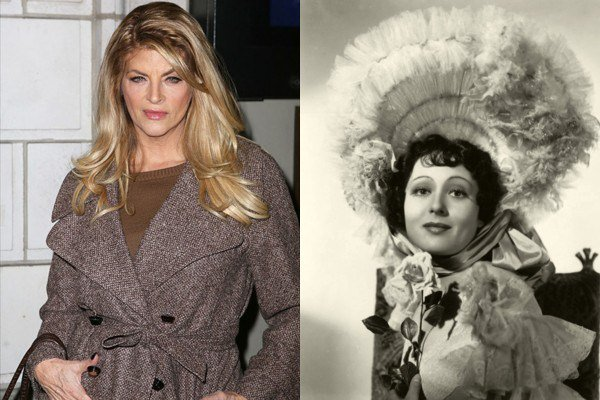 January 12: Happy Birthday Kirstie Alley and LuiseRainer