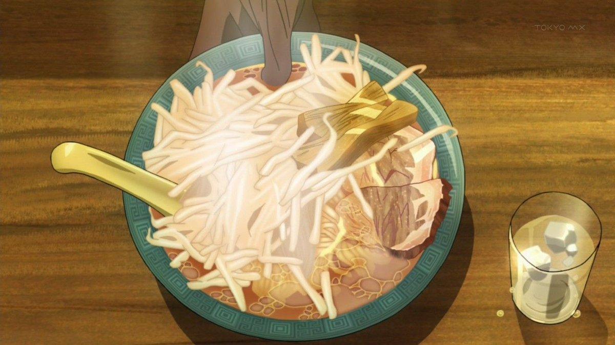 『スペース☆ダンディ』、今日はラーメン回放送3周年だった事に今更気付く。ラーメン食べれば良かった。ラーメン回は『ユーリ!