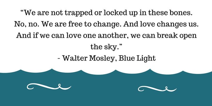 Happy birthday Walter Mosley, author of Devil in a Blue Dress. Here\s one of our favorite quotes!