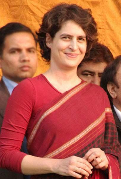 Happy Birthday to Shrimati Priyanka Gandhi Vadra, God bless her.