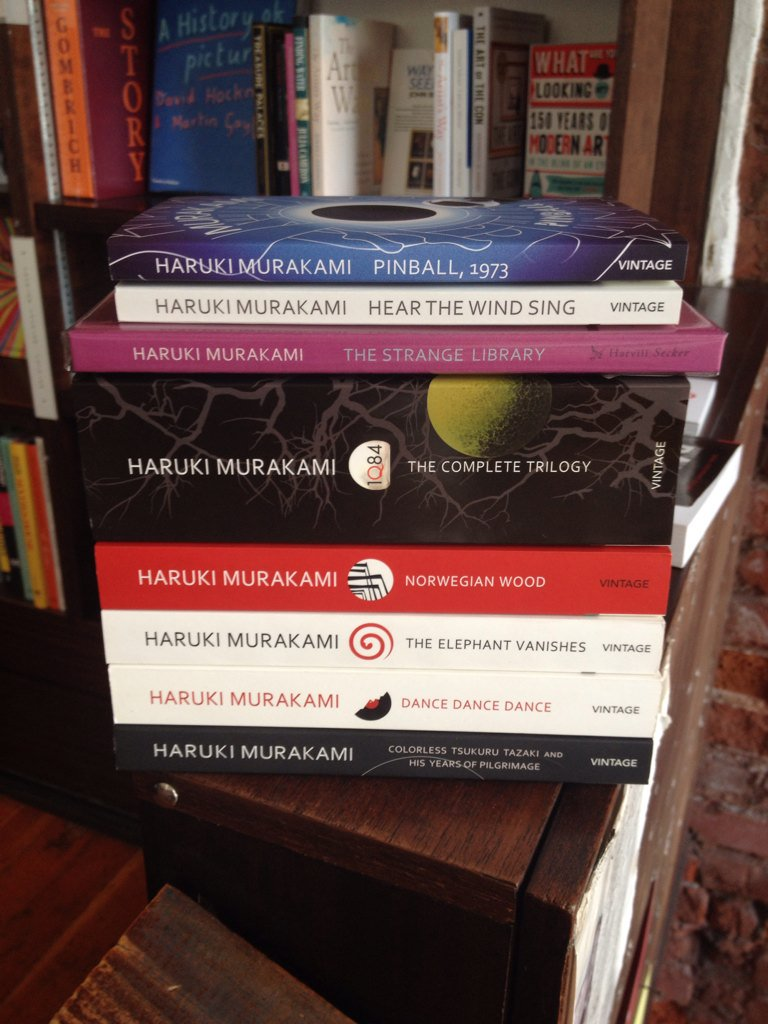 It\s Haruki Murakami\s was born on this day in1949. Happy Birthday!