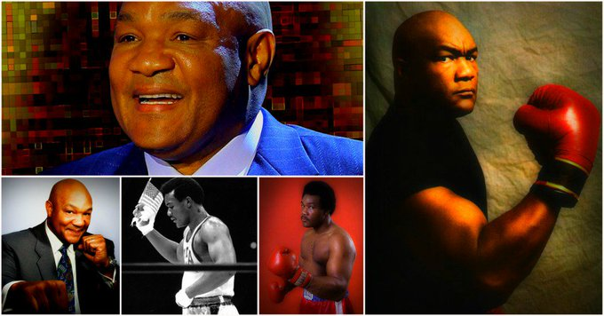 Happy Birthday to George Foreman (born January 10, 1949)