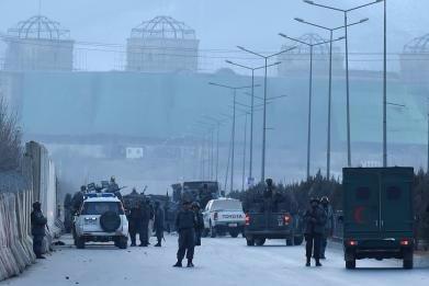 Twin Taliban bomb blasts kill more than 30 near Afghan parliament