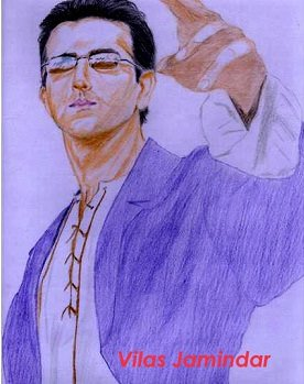 Happy Birthday Hrithik Roshan..a sketch made up of you