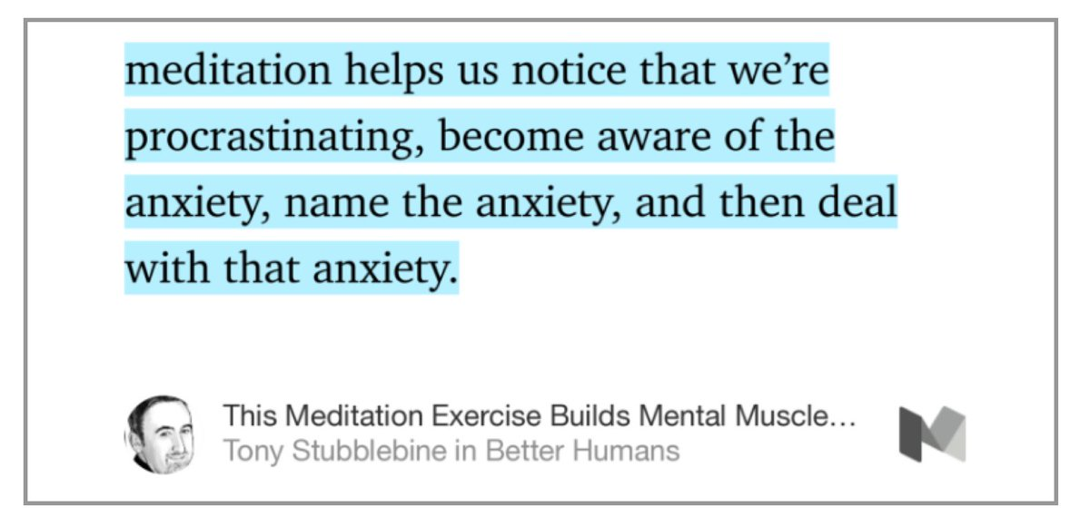 This Meditation Exercise Builds Mental Muscle and Cures Procrastination https://t.co/hSlIU7FrCh https://t.co/cKJ2ck1CAB