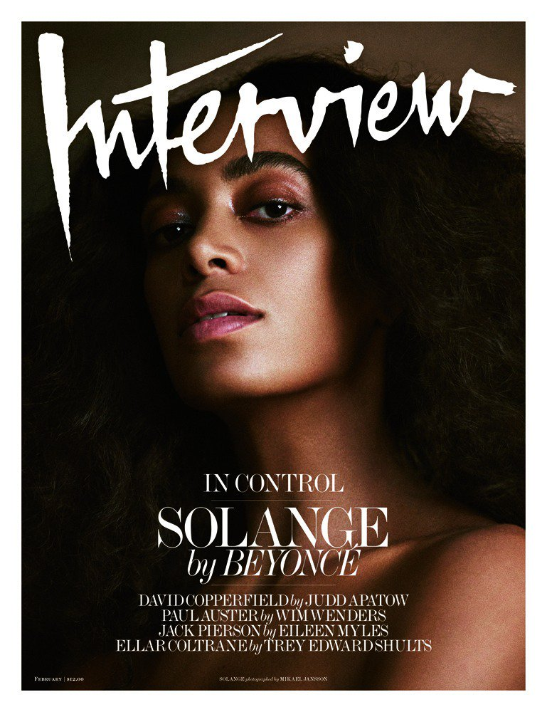 .@solangeknowles talks to her sister @beyonce for our February cover. https://t.co/LlMOiDj9hX https://t.co/DOexFyVcFR