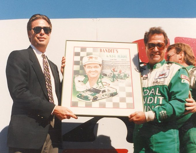 Happy Birthday to Mr. September, Harry Gant with a pic from honoring his final race here in 1994!