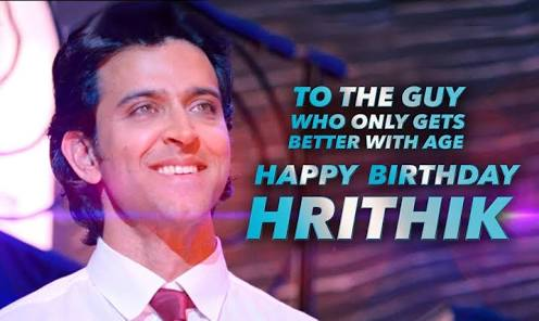 And now once Again  HAPPY birthday to Hrithik.  Hope u have a wonderful year Ahead.  HBD KAABIL HRITHIK ROSHAN
