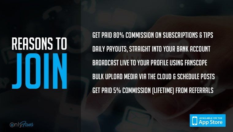Join OnlyFans today, set a monthly subscription price and get paid for your content! https://t.co/z11xAFPOnP