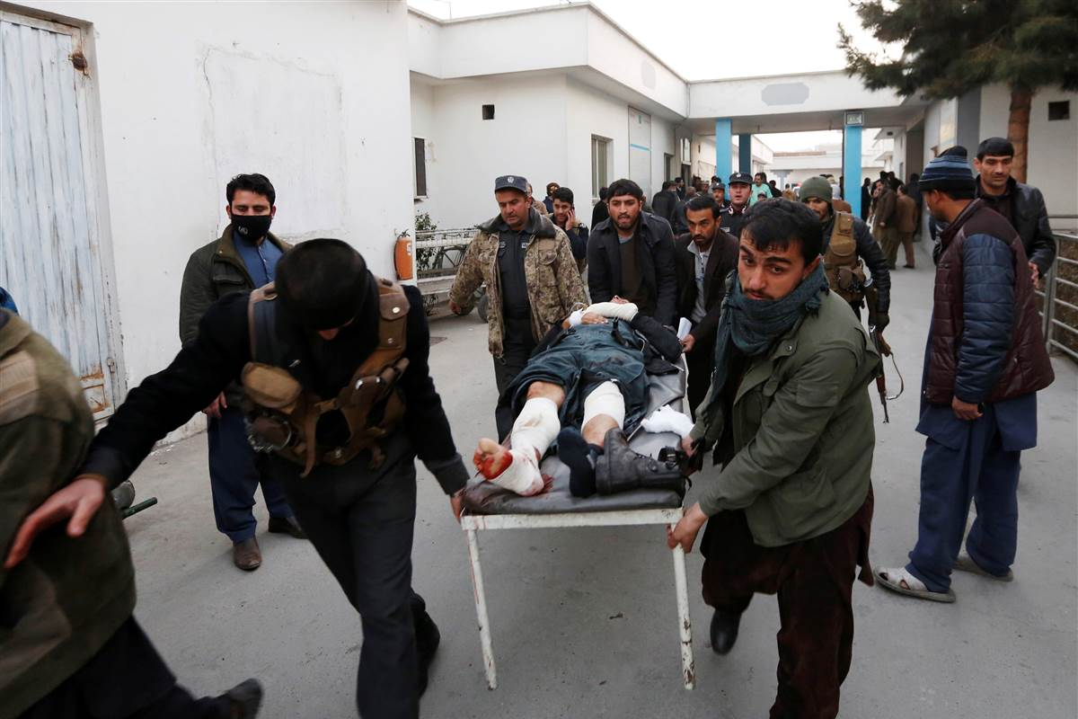 Taliban claims twin bombings in Kabul that killed at least 38