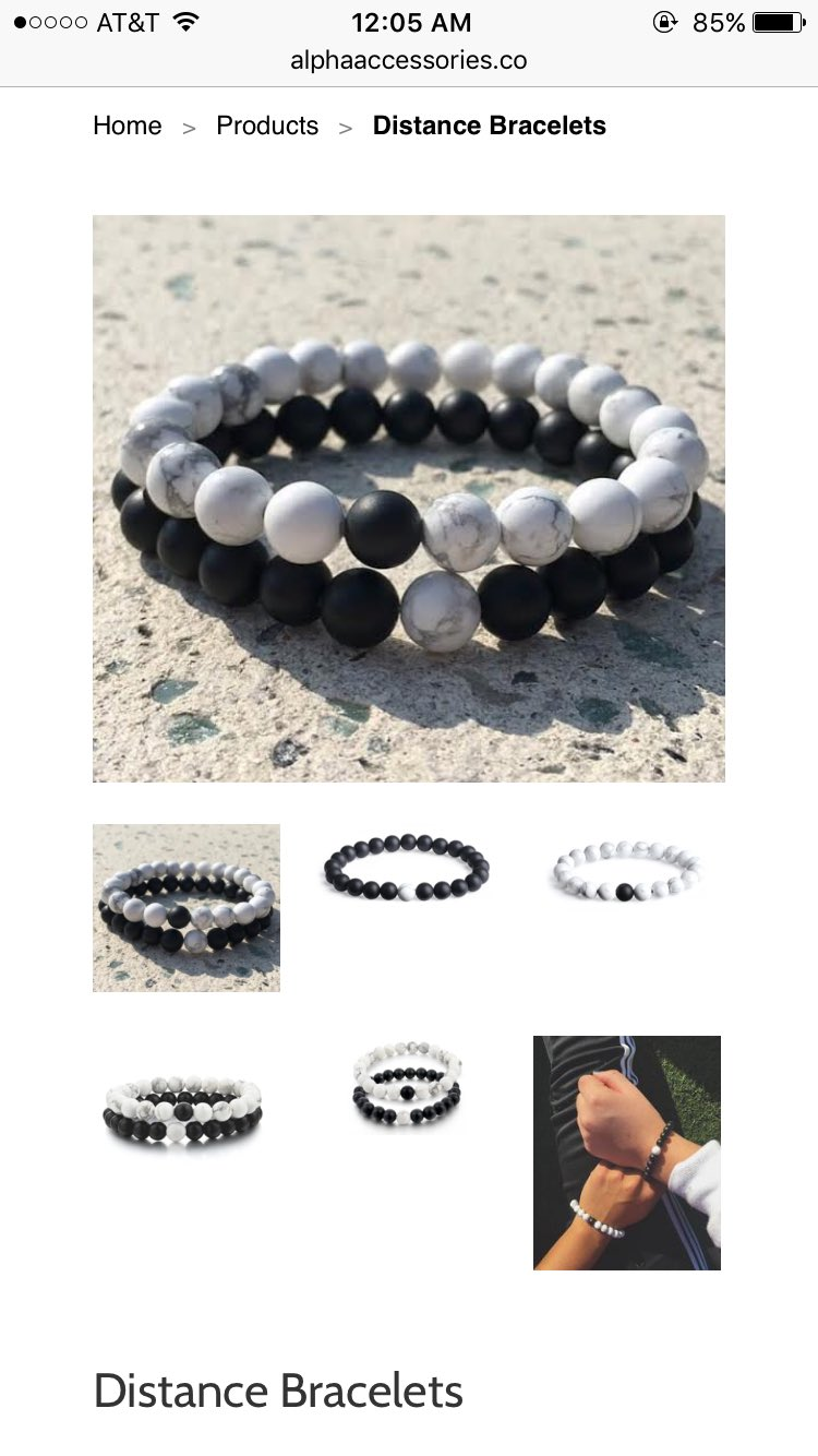 NEEEEEEEEED These Distance Bracelets! ⚪️⚫️❤️����  They're on Sale https://t.co/umKAdwWYVt https://t.co/R3dQVjrnrr