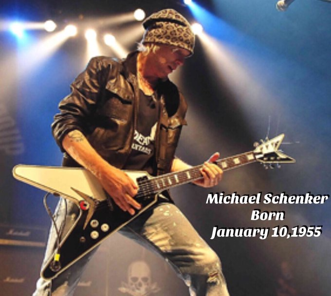 Happy Birthday to Michael Schenker 1/10/55 Rock Bottom- Michael Schenker
